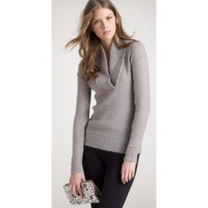 J. Crew Dolce Shawl-Collar Popover Sweater Small